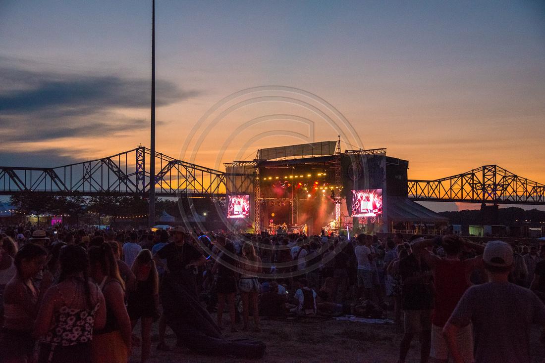 Forecastle Festival Louisville Kentucky July 2017